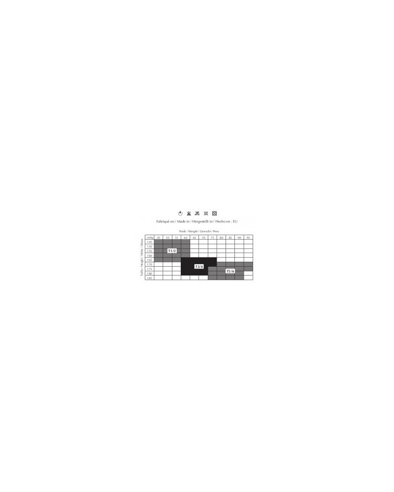 Collant Nylon Couture talon renforcé 10Den